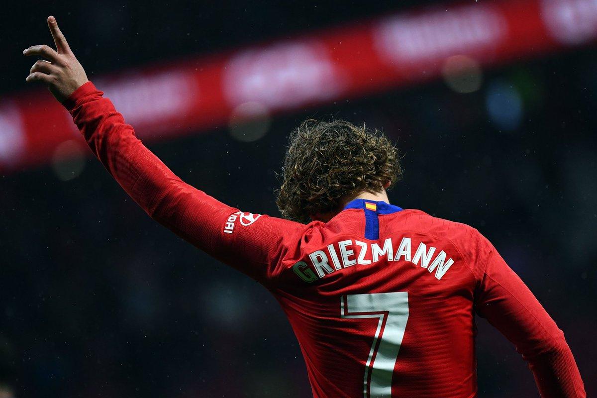 Antoine Griezmann le manda un guiño a equipo italiano