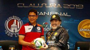 Dorados de Sinaloa ya tiene el reemplazo de Maradona para la siguiente temporada