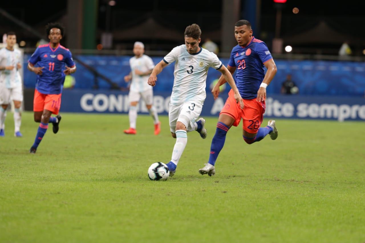 Colombia vence 2-0 a la Argentina de Messi