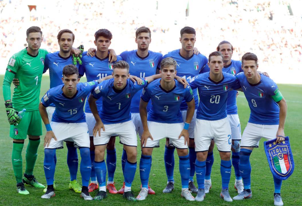 d0e86ad3 Italia y Ucrania, a un paso de su primera final en Mundial Sub 20 ...
