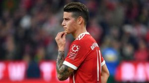 Oficial: James Rodríguez dejará al Bayern Munich