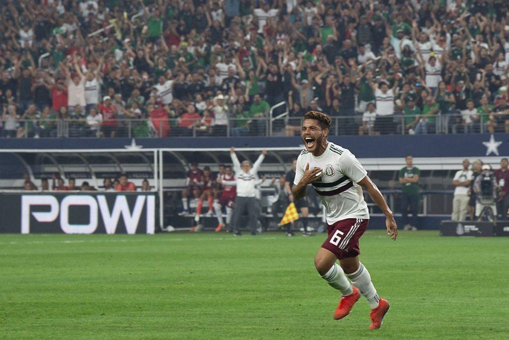 Jonathan dos Santos, seria duda para debut en Copa Oro ante Cuba