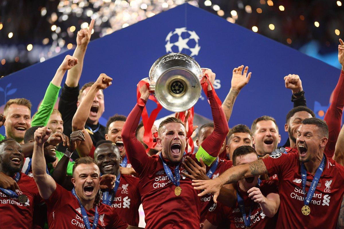 Así se vive el festejo del Liverpool en Madrid