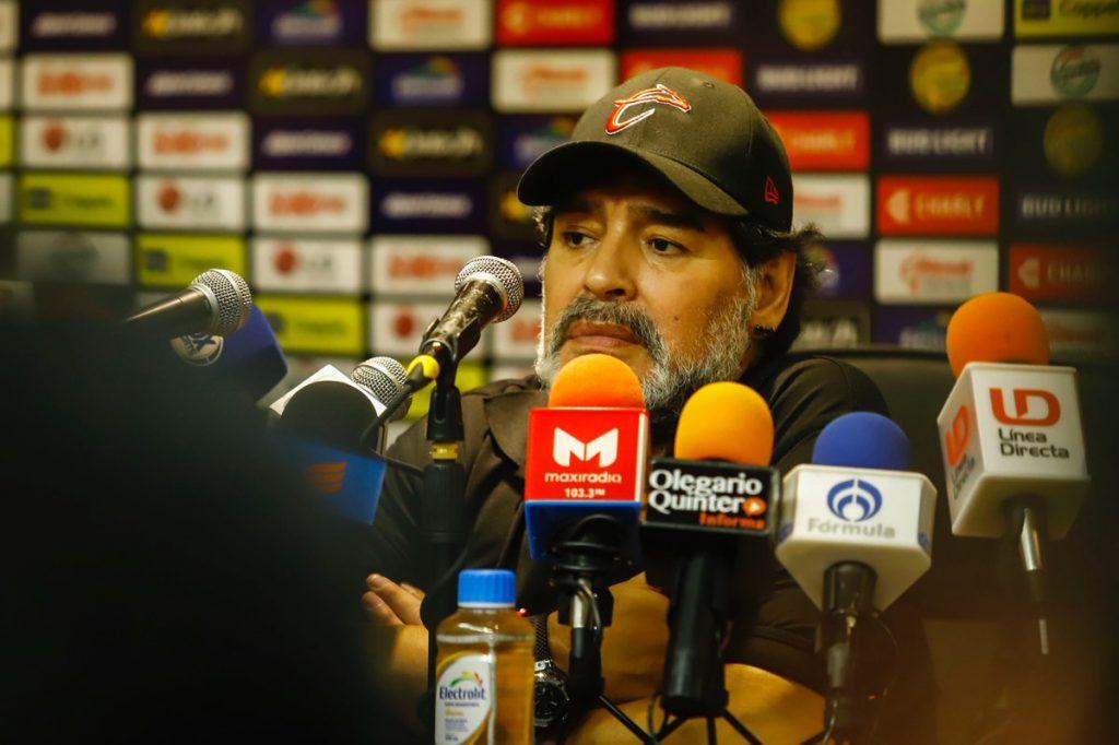 Maradona no seguirá en Dorados la próxima temporada