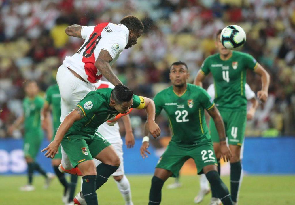 Perú vence 1-3 a Bolivia en la segunda fecha de la Copa América