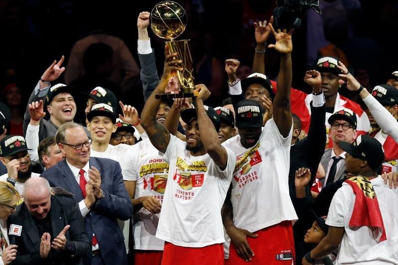 Raptors de Toronto se coronan como campeones de la NBA