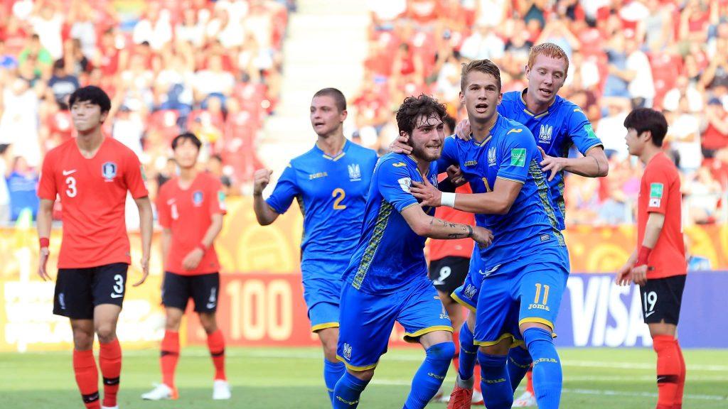 Ucrania se corona en el campeonato Mundial Sub 20 al vencer a Corea del Sur