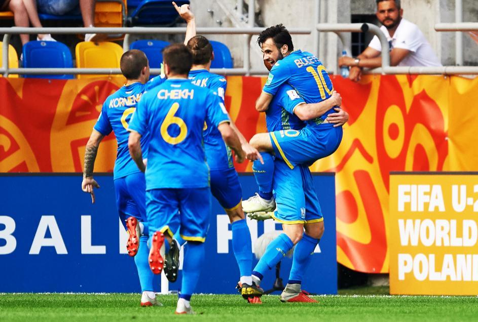 Ucrania sorprende a Italia y avanza a su primera final en Mundial Sub 20