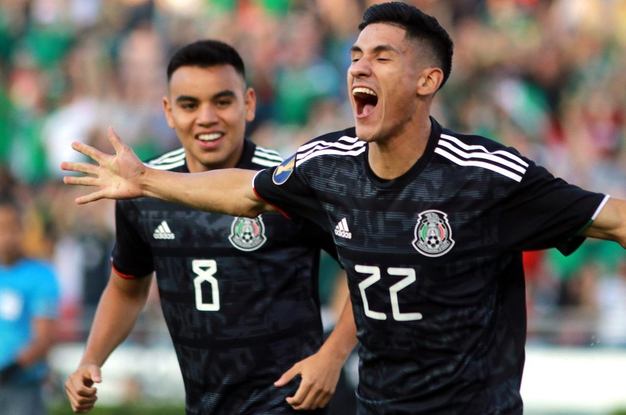 Antuna marca el gol más rápido para México en Copa Oro