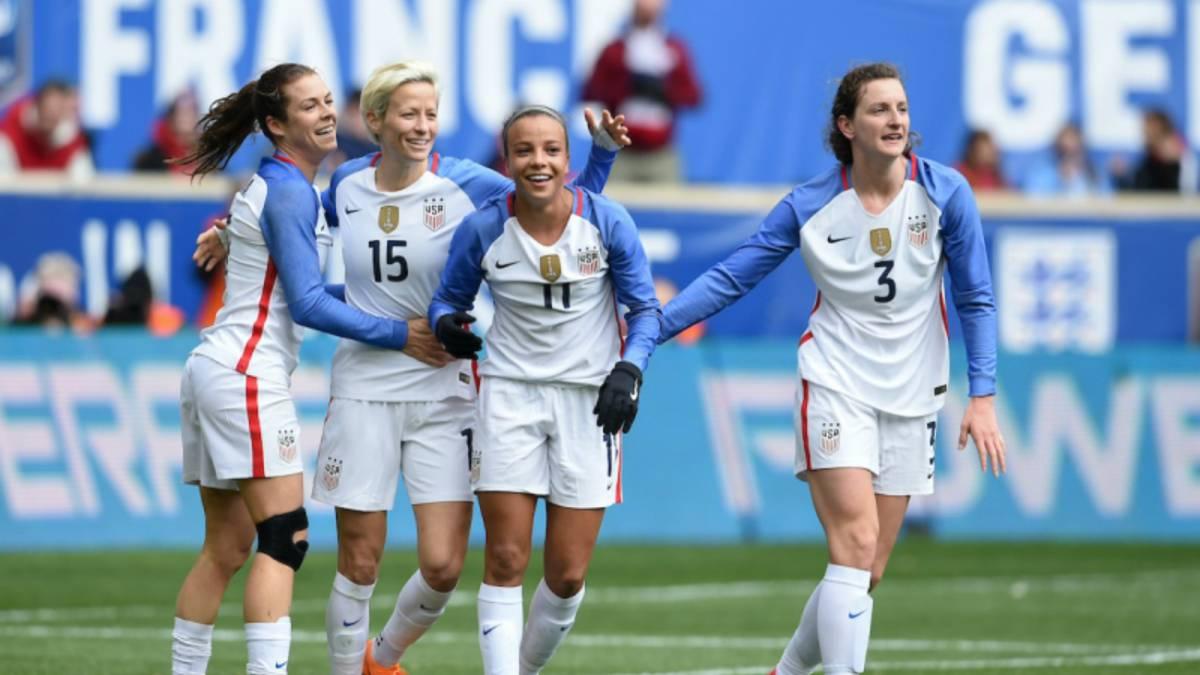 Estados Unidos se mantiene en la cima del ranking femenil de la FIFA