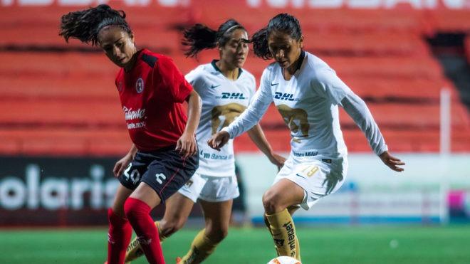 Pumas y Xolos se miden en actividad sabatina de Liga MX Femenil