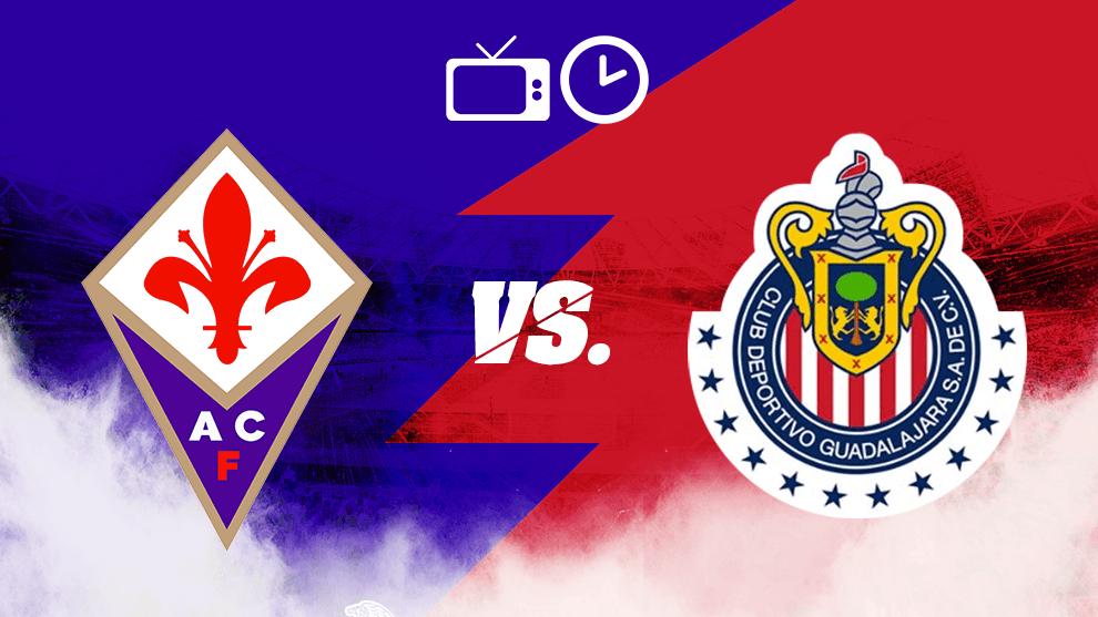 ¡Con puro mexicano! Chivas hoy contra Fiorentina