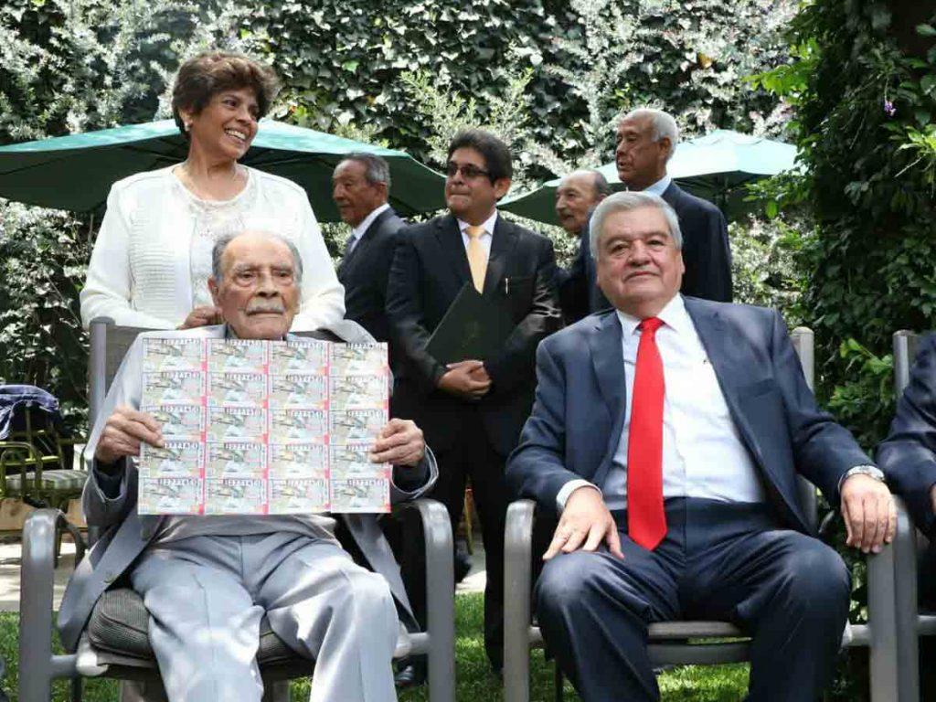 Lotería Nacional emite billete en reconocimiento a Ignacio Trelles