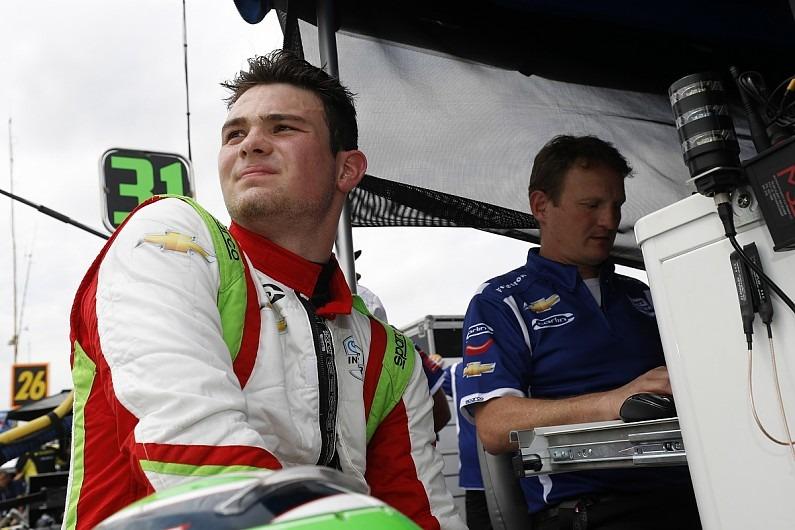 Mexicano Patricio O'Ward tiene difícil inicio en Súper Fórmula de Japón