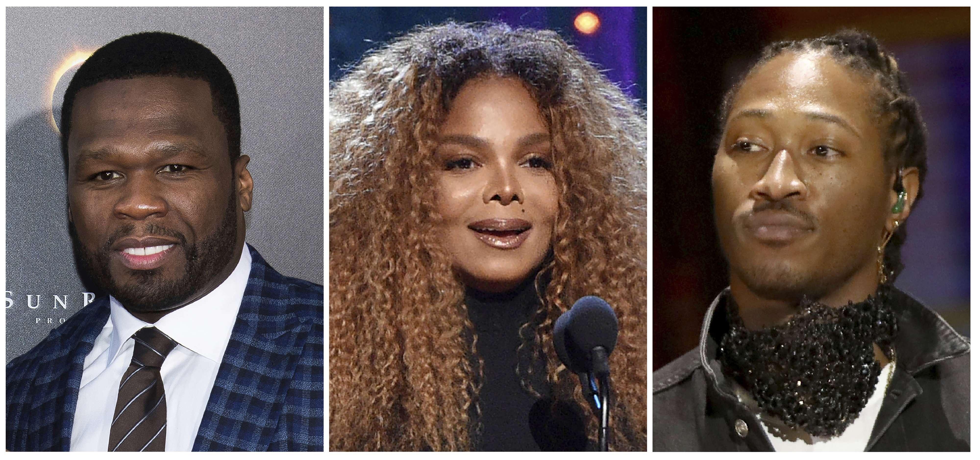 Janet Jackson y 50 Cent se presentarán en festival saudí