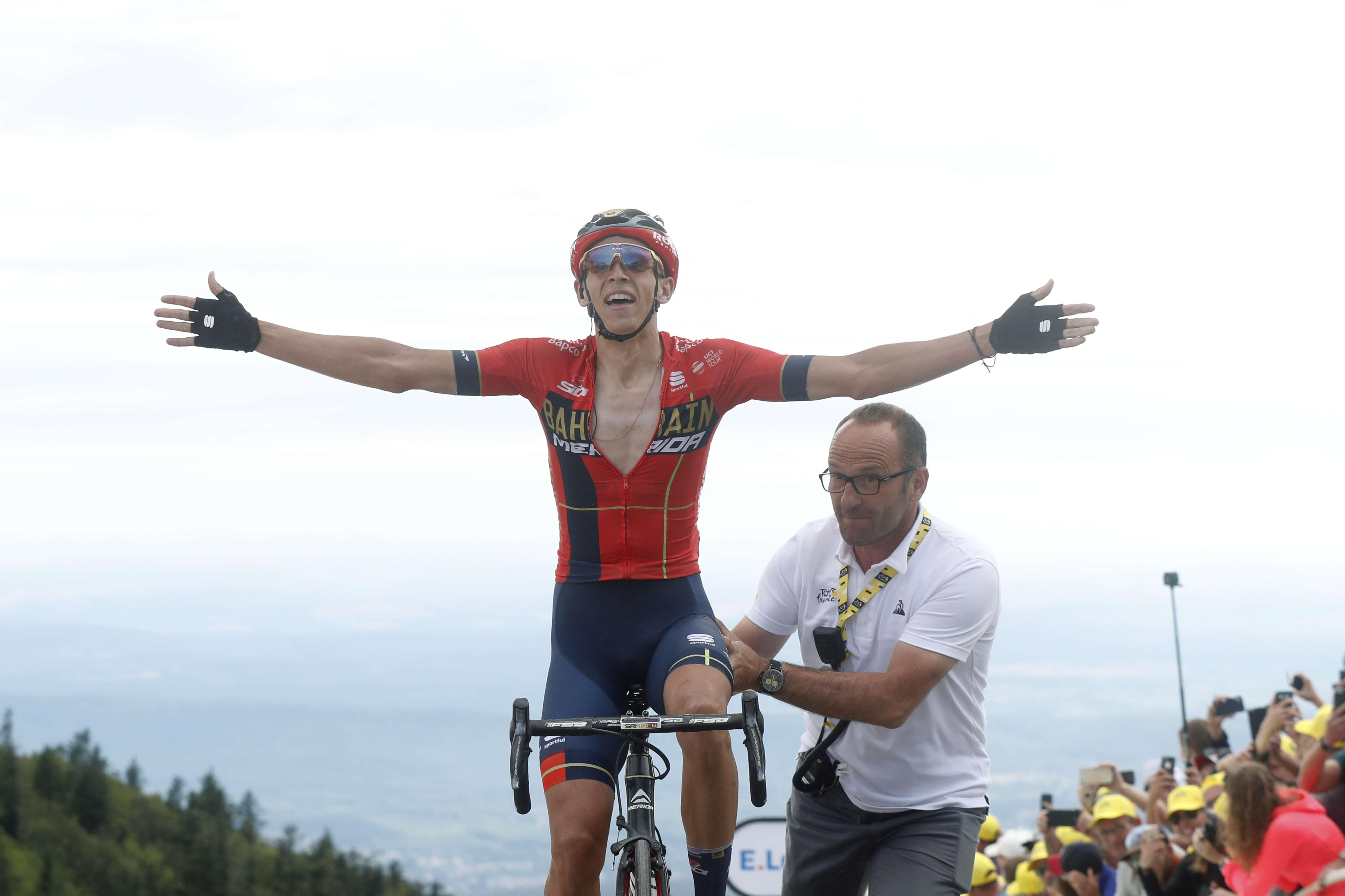 Teuns gana 6ta etapa del Tour, Ciccone es el líder