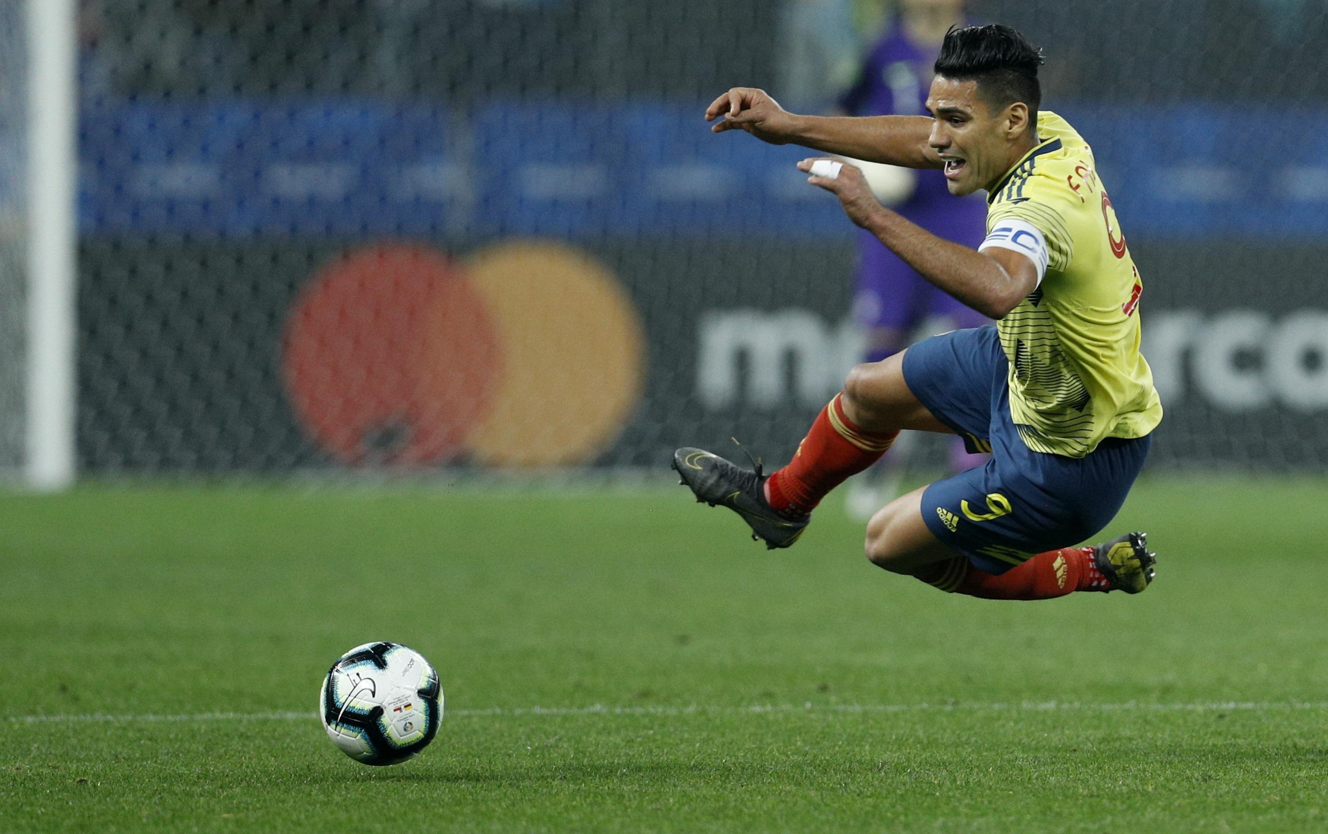 Falcao, suspenso con el Mónaco y sueño de Copa América 2020