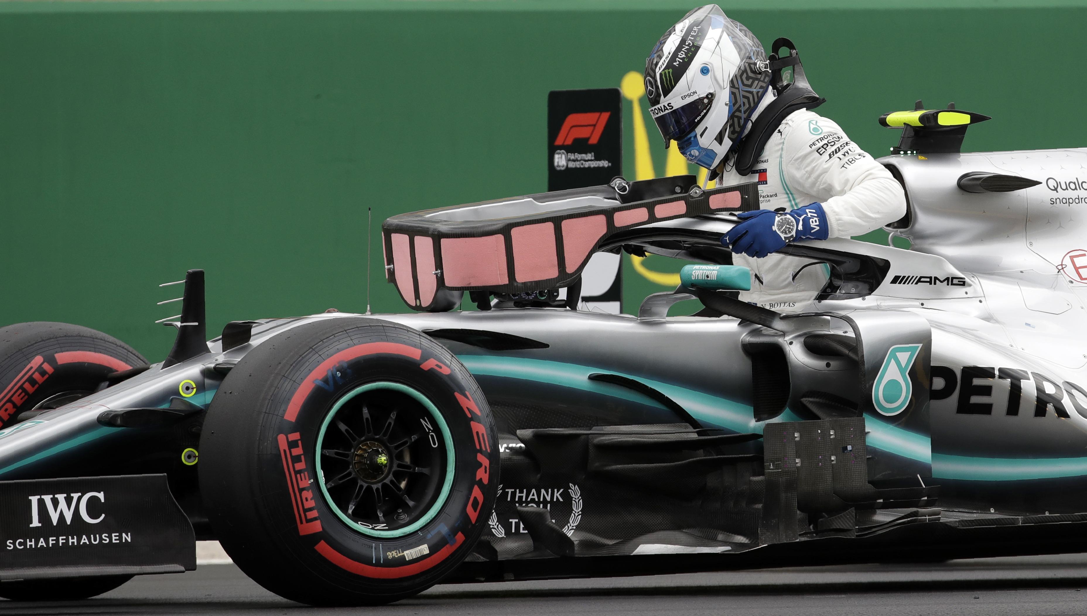 F1: Bottas gana la pole para el GP británico