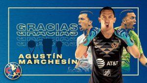 América confirma salida de Agustín Marchesín al Porto