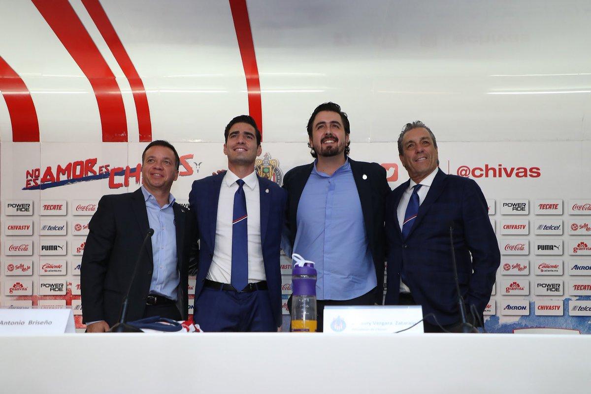 Amaury Vergara promete que bajo su gestión Chivas será campeón