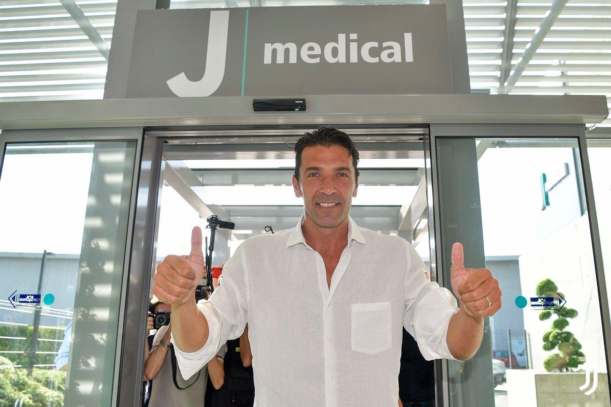 Este número usará Gianluigi Buffon en la Juventus
