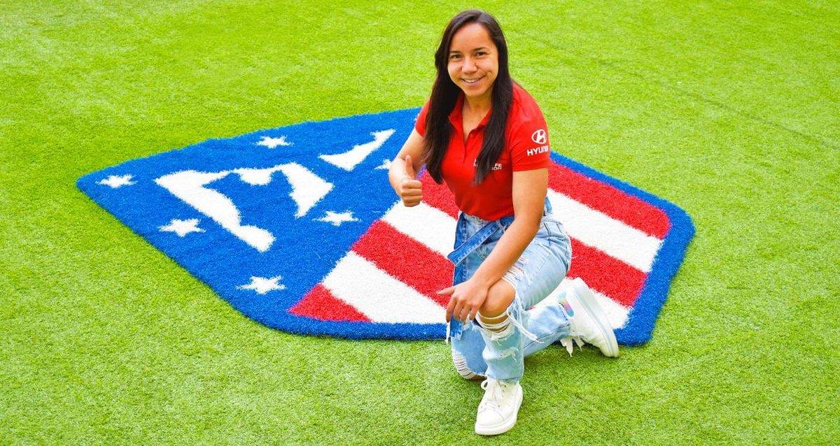 Mexicana Charlyn Corral ficha por Atlético de Madrid