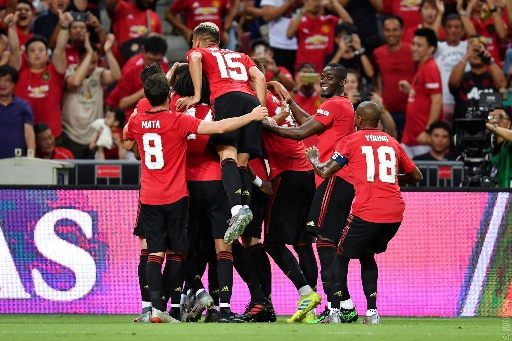 Manchester United vence al Inter de Milán en la  International Champions Cup 2019