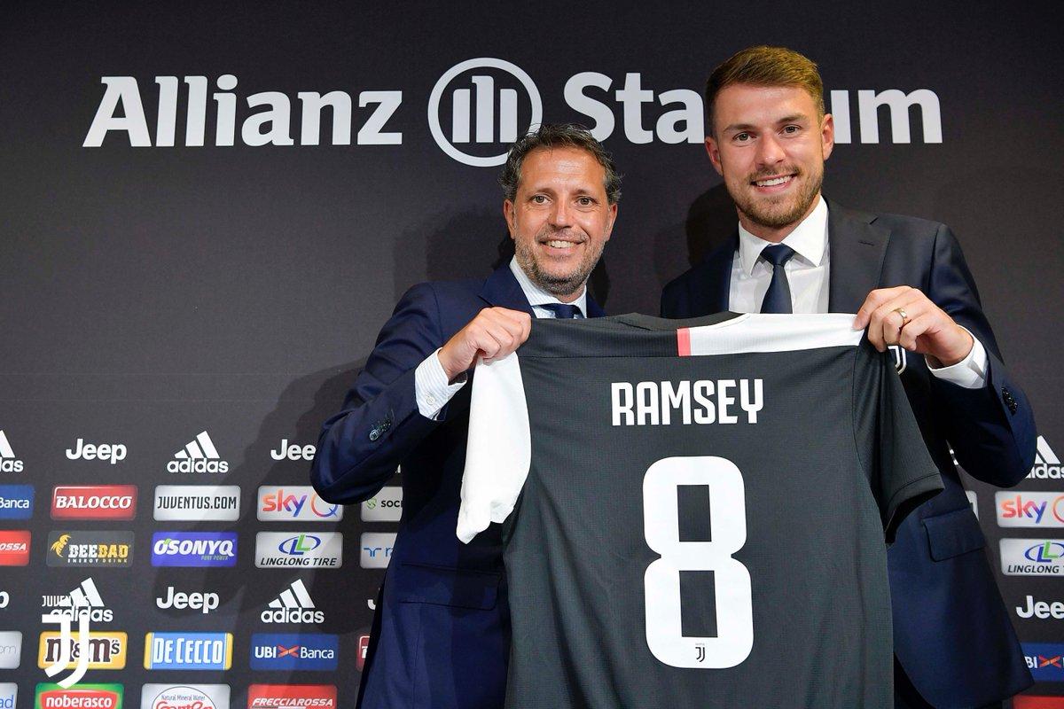 La Juventus presenta oficialmente a Aaron Ramsey