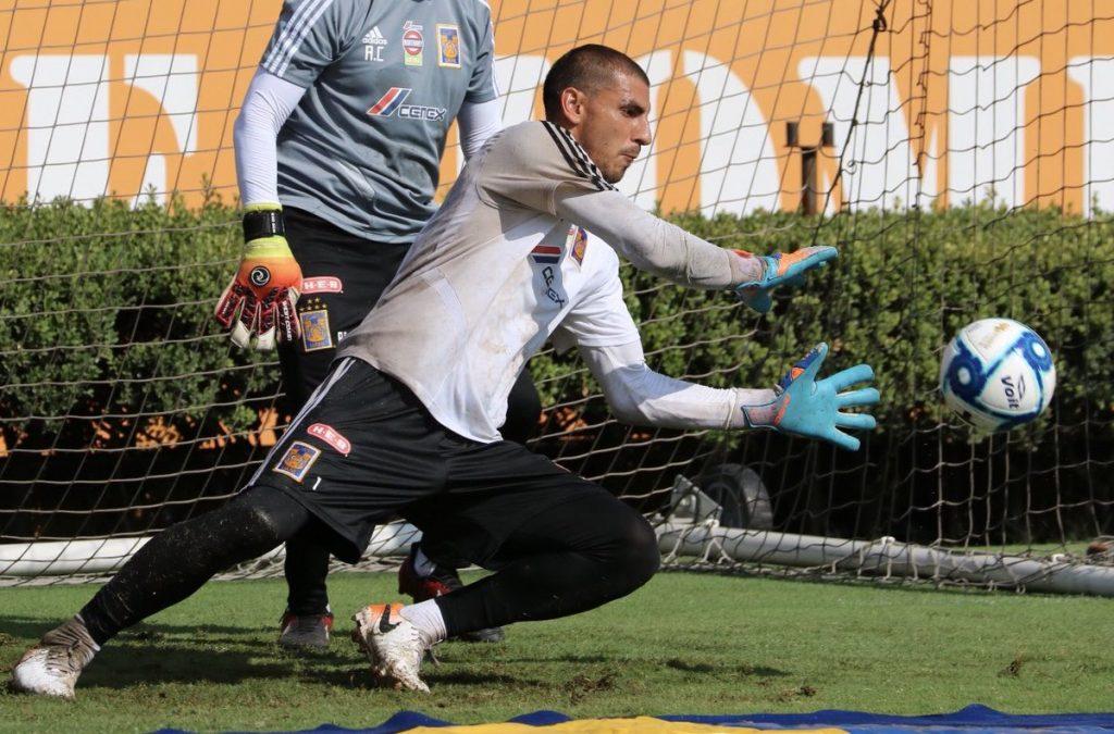 Nahuel Guzmán cerca de romper récord de partidos consecutivos  con Tigres