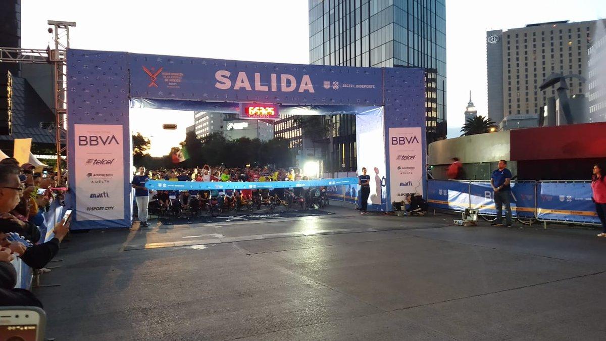Asaltan a seis personas durante la media maratón de la Ciudad de México