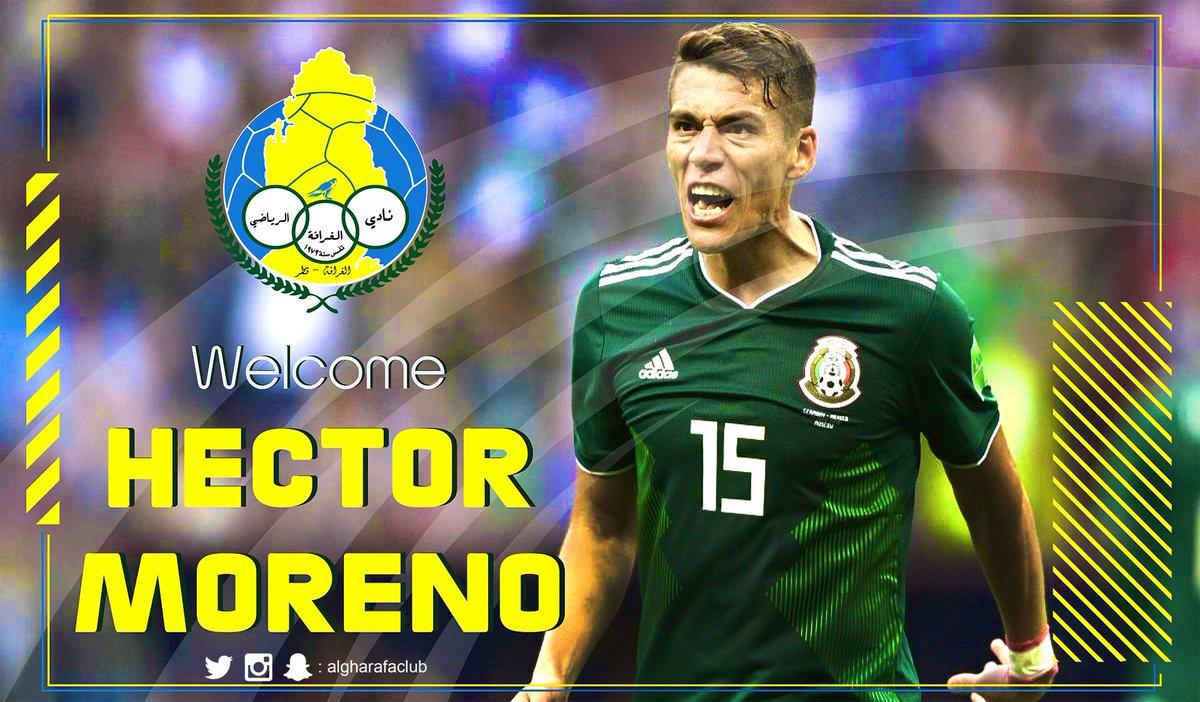 Hoy presentan a Héctor Moreno como nuevo jugador del Al Gharafa
