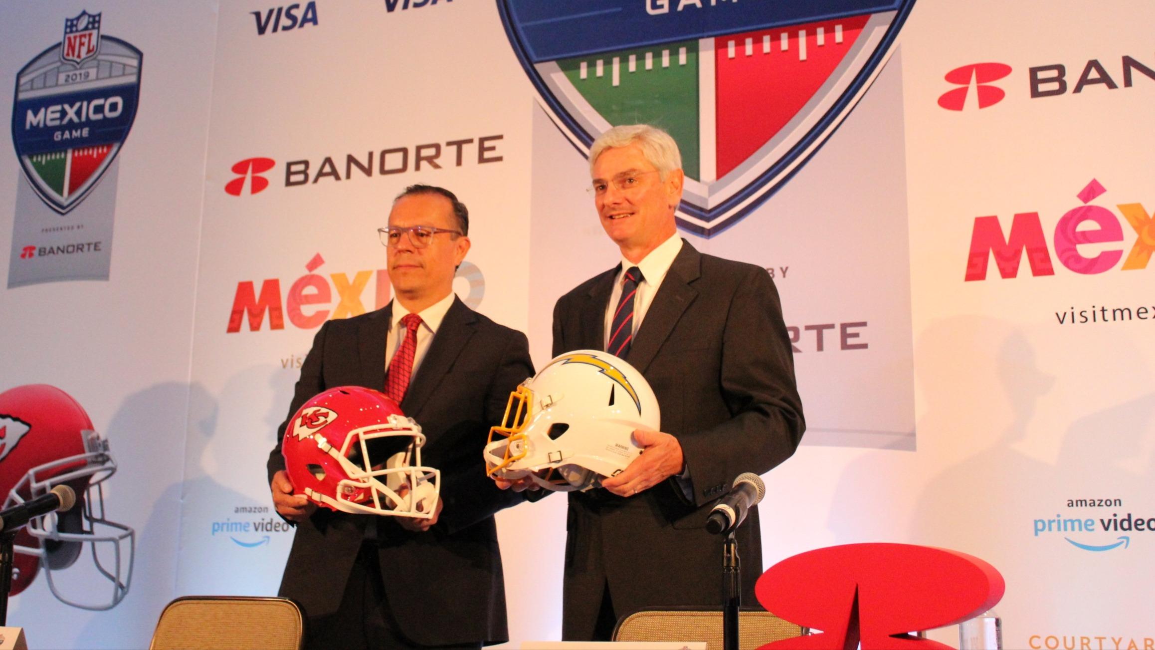 Confirman fechas y precios para la NFL en México