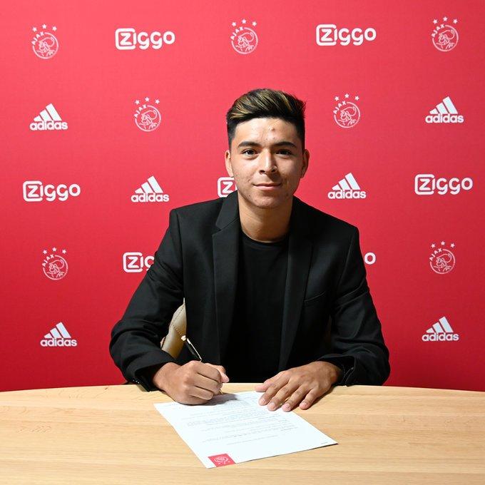 Él es Alex Méndez el nuevo mexicanoamericano del Ajax de Holanda