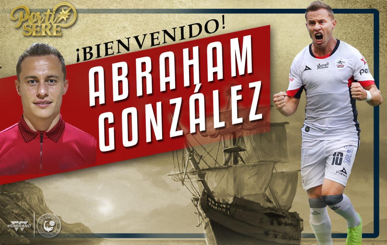 Español Abraham González se suma a Tiburones Rojos de Veracruz