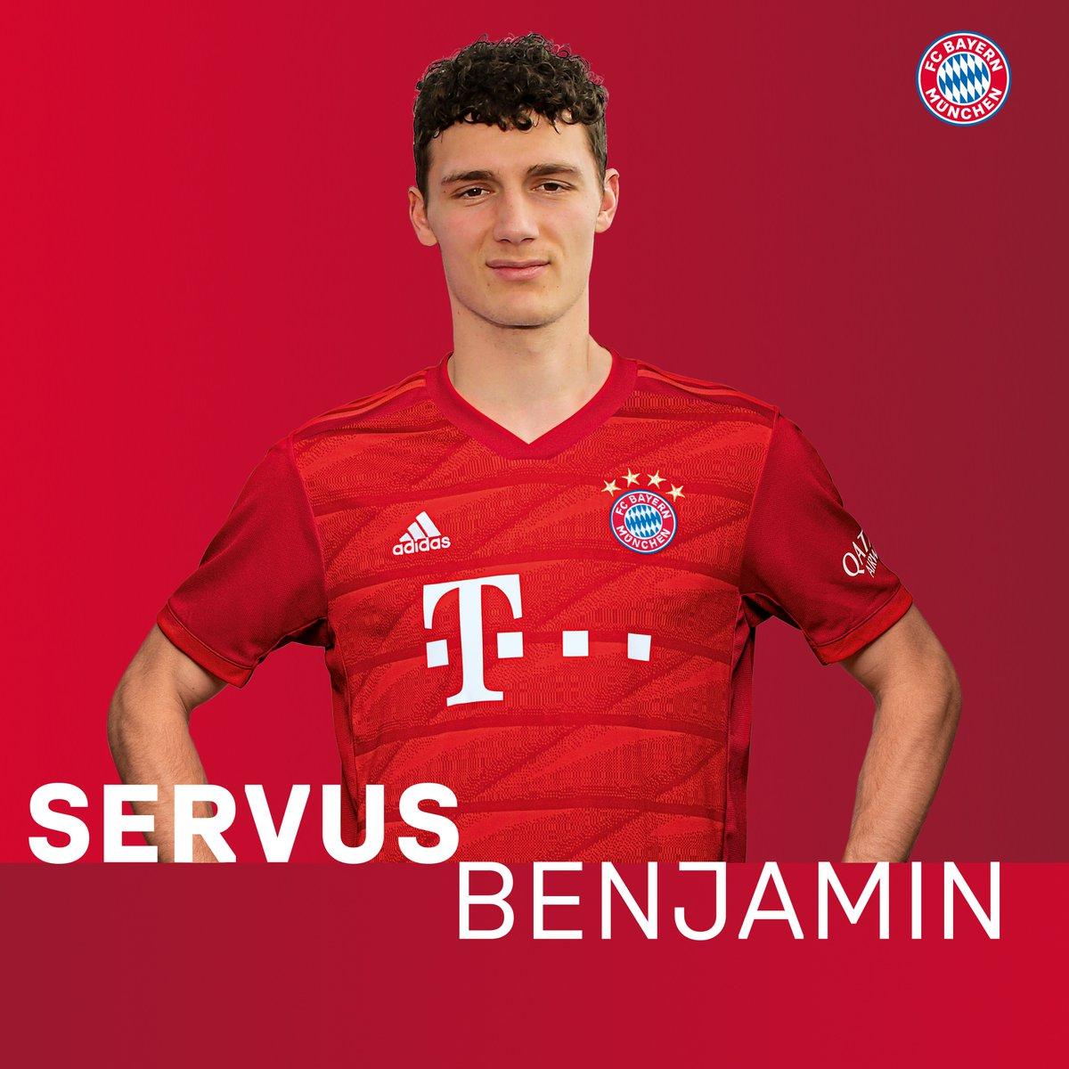 Benjamin Pavard es oficialmente nuevo jugador del Bayern Munich