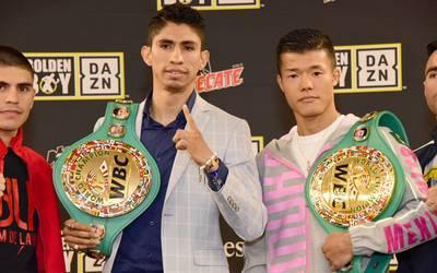 Boxeadores Rey Vargas y Tomoki Kameda cumplen en la báscula