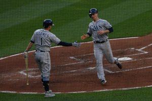 Rays aplastan a Orioles de visita