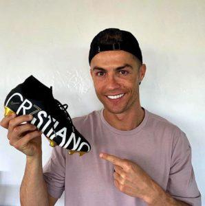 Cristiano Ronaldo y su amplia colección de zapatillas