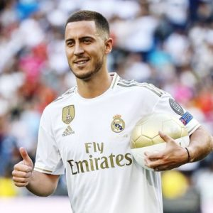 Hazard desprecia el 7 de Cristiano Ronaldo