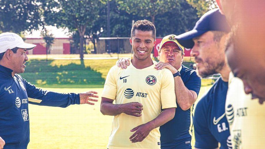 Giovani Dos Santos debutaría con América ante Pumas