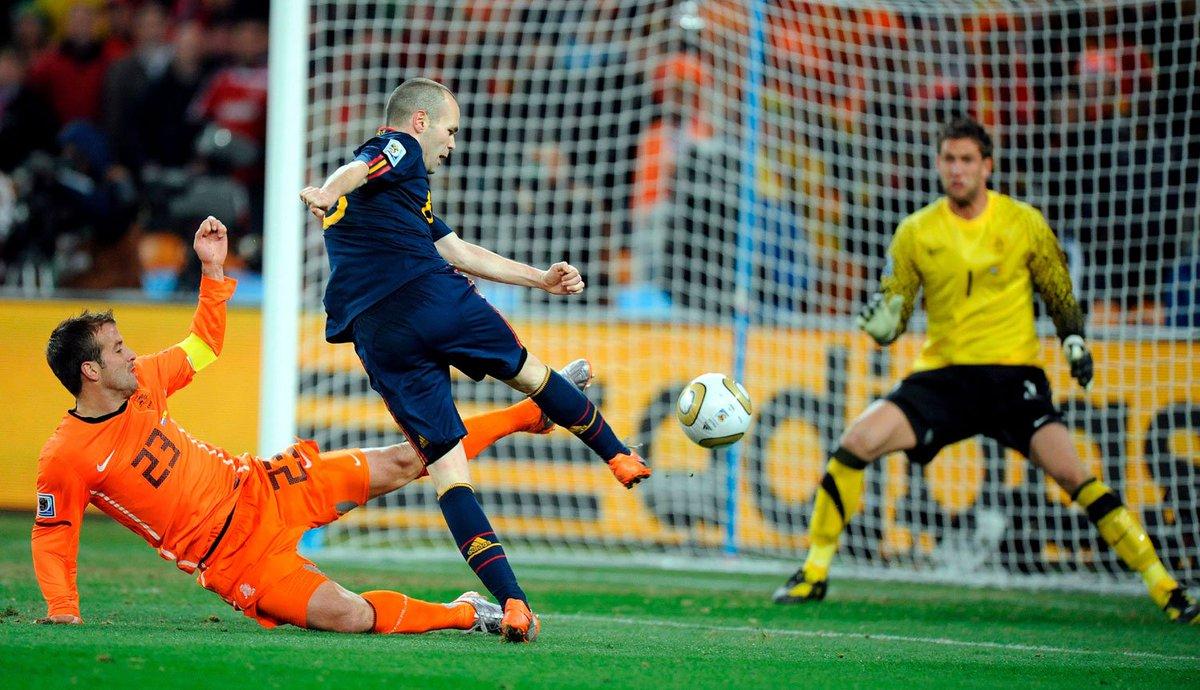 Se cumplen nueve años del gol de Andrés Iniesta que dio el primer Mundial a España