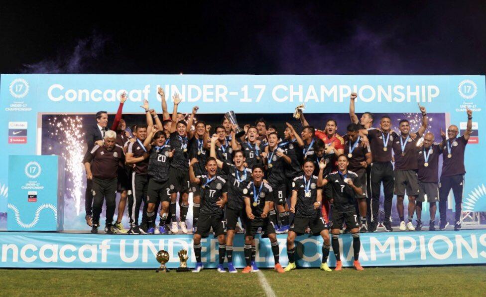 México ya tiene rivales para el Mundial Sub-17 Brasil 2019