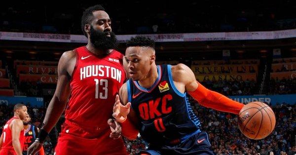 Russell Westbrook será compañero de James Harden en los Rockets
