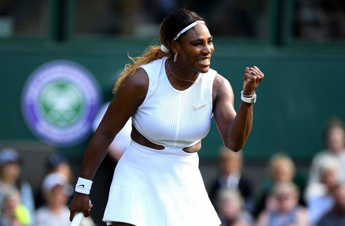 Sufrida victoria de Serena Williams en Wimbledon 2019