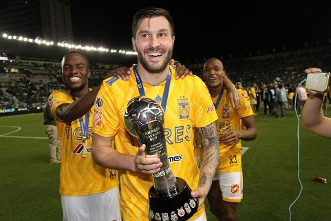 Así fue el primer gol de André-Pierre Gignac a Guillermo Ochoa