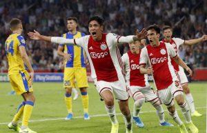 Ajax se mete la Champions League con gol de Edson Álvarez incluido