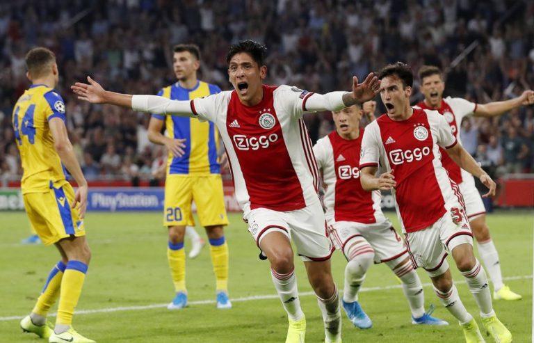 Ajax Champions League Edson Álvarez