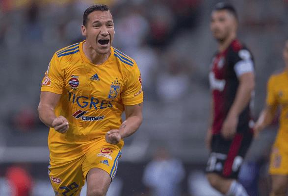 Tigres rescata empate 1-1 de último minuto ante Atlas