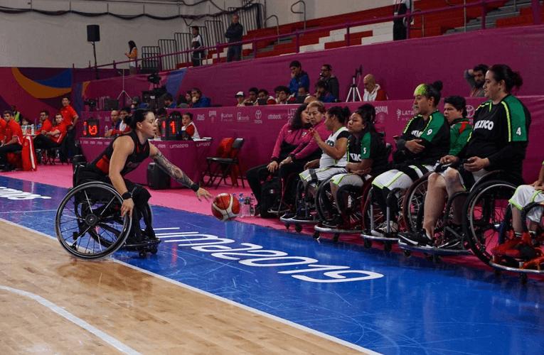 Equipo mexicano femenil de baloncesto cae en Parapanamericanos Lima 2019