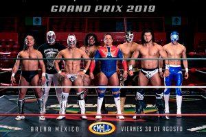Listo equipo del CMLL para Grand Prix en Arena México